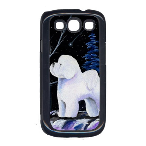 Carolines Treasures SS8397GALAXYSIII Starry Night Bichon Frise Cell Phone Cover Galaxy S111