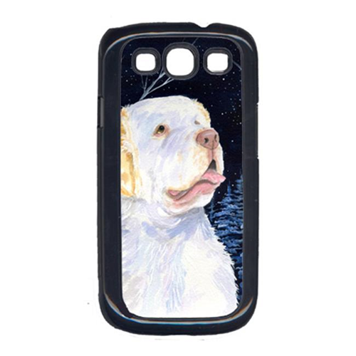 Carolines Treasures SS8356GALAXYSIII Starry Night Clumber Spaniel Cell Phone Cover For Galaxy S111