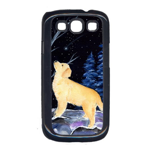 Carolines Treasures SS8392GALAXYSIII Starry Night Golden Retriever Cell Phone Cover For Galaxy S111