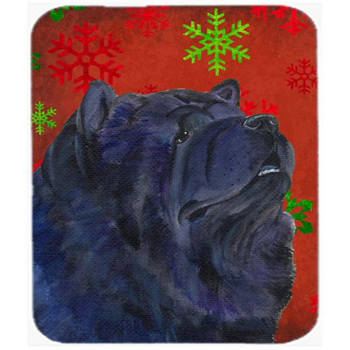 Carolines Treasures SS4708MP Chow Chow Snowflakes Holiday Christmas Mouse Pad Hot Pad Or Trivet