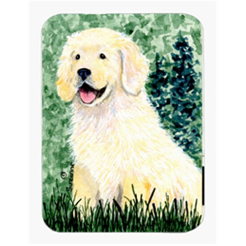 Carolines Treasures SS8739MP Golden Retriever Mouse Pad & Hot Pad Or Trivet