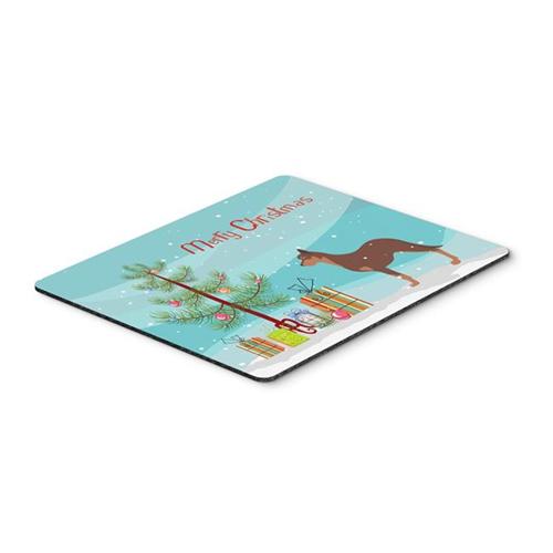 Carolines Treasures BB2947MP Australian Kelpie Dog Merry Christmas Tree Mouse Pad Hot Pad or Trivet