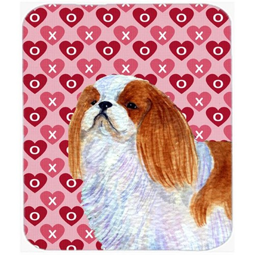 Carolines Treasures SS4507MP English Toy Spaniel Hearts Love And Valentines Day Mouse Pad Hot Pad Trivet