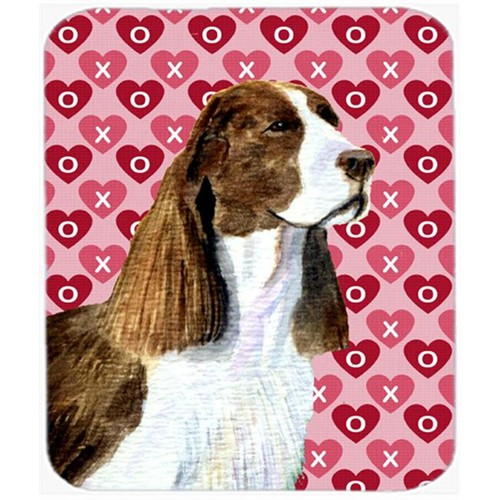 Carolines Treasures SS4513MP Springer Spaniel Hearts Love And Valentines Day Mouse Pad Hot Pad Or Trivet