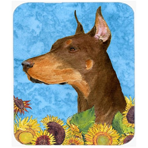 Carolines Treasures SS4237MP Doberman Mouse Pad Hot Pad or Trivet