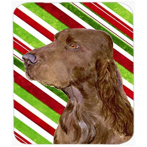 Carolines Treasures SS4594MP Field Spaniel Candy Cane Holiday Christmas Mouse Pad Hot Pad Or Trivet