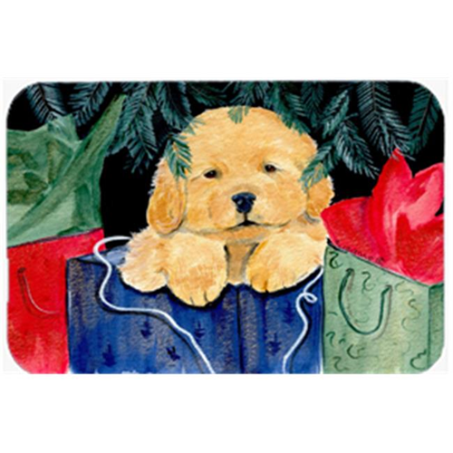 Carolines Treasures SS8580MP Golden Retriever Mouse Pad & Hot Pad Or Trivet