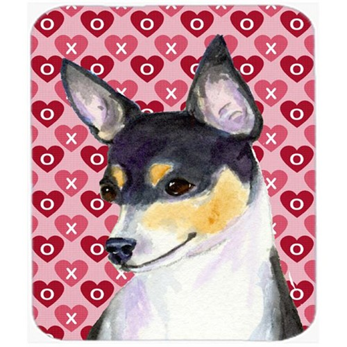 Carolines Treasures SS4518MP Chihuahua Hearts Love And Valentines Day Portrait Mouse Pad Hot Pad Or Trivet