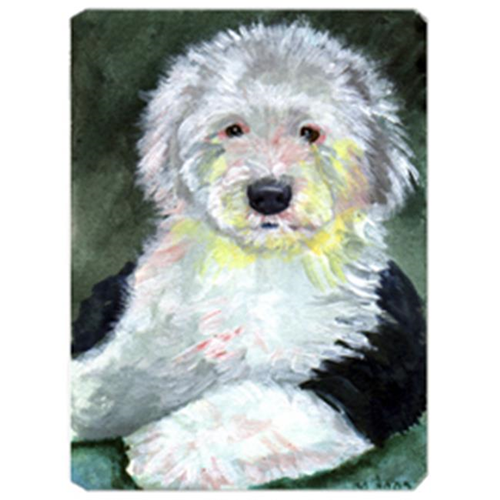 Carolines Treasures 7252MP 8 x 9.5 in. Old English Sheepdog Mouse Pad Hot Pad Or Trivet
