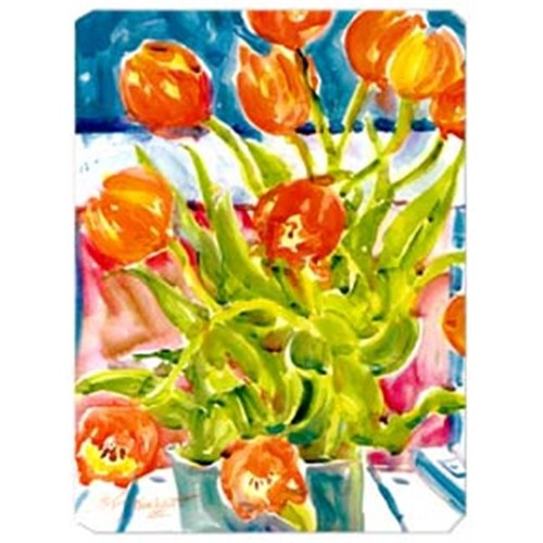 Carolines Treasures 6025MP 9.5 x 8 in. Flowers - Tulips Mouse Pad Hot Pad Or Trivet