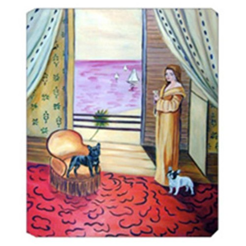 Carolines Treasures 7128MP 8 x 9.5 in. French Bulldog Mouse Pad Hot Pad Or Trivet