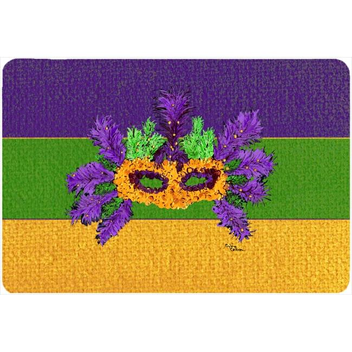 Carolines Treasures 8389MP 9.5 x 8 in. Mardi Gras Mouse Pad Hot Pad Or Trivet