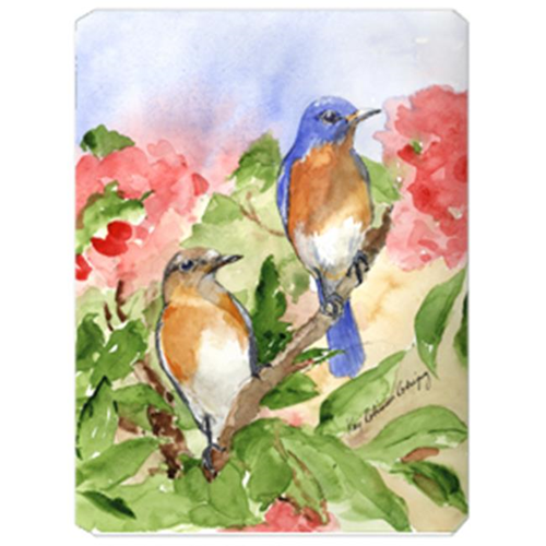 Carolines Treasures KR9012MP 9.5 x 8 in. Bird - Blue Bird Mouse Pad Hot Pad Or Trivet