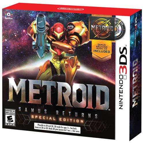 Metroid: Samus Returns Special Edition (3DS)
