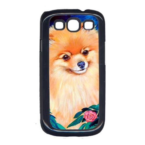 Carolines Treasures 7165GALAXYSIII Pomeranian Garden Bud Cell Phone Cover Galaxy S111