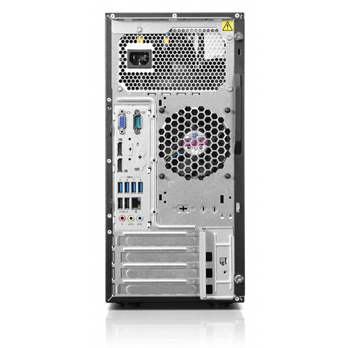 Lenovo ThinkStation E32 Tower, Intel Core i5, 8GB RAM, 1 TB HDD, DVD-RW, Windows 10 Home, 1 Year Warranty - Refurbished