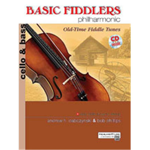 Alfred 00-28320 Basic Fiddlers Philharmonic- Old-Time Fiddle Tunes - Music  Book