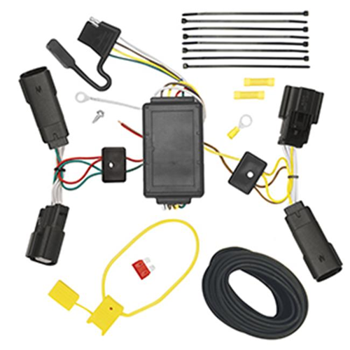 Tow Ready 118507 T-One Connector Assembly With Upgraded Circuit Protected Modulite Module 8.80 x 4 x 4.80 in.