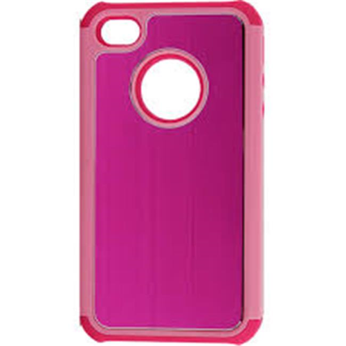 Accellorize Fitted Hard Shell Case for iPhone 4 - Pink