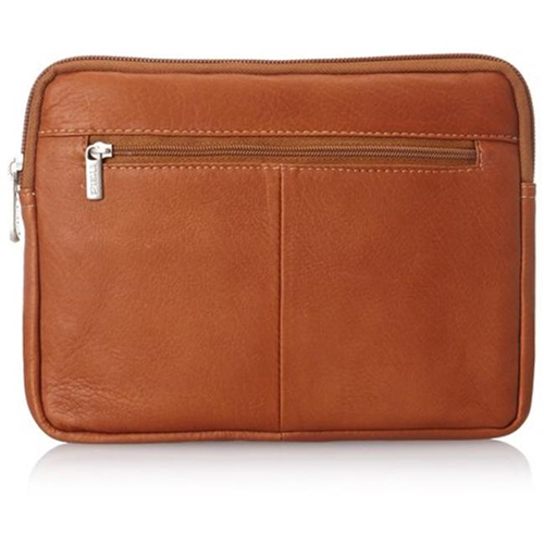 Piel Leather 2981 Ipad Mini & 7 Inch Tablet Sleeve - Saddle