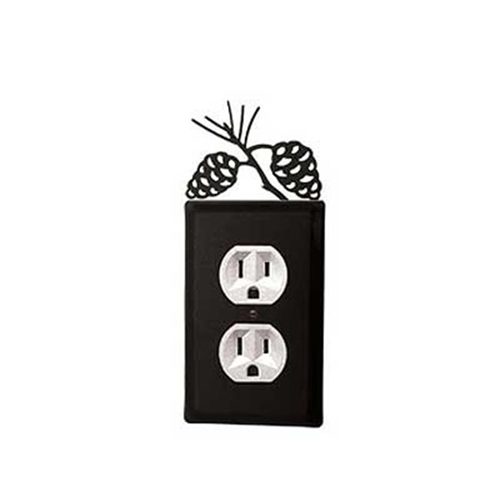 Village Wrought Iron EO-89 Pinecone Outlet Cover