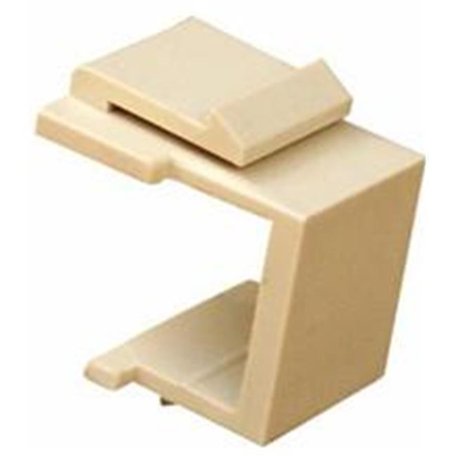 Morris Products 88227 Blank Modular Inserts Lt. Almond