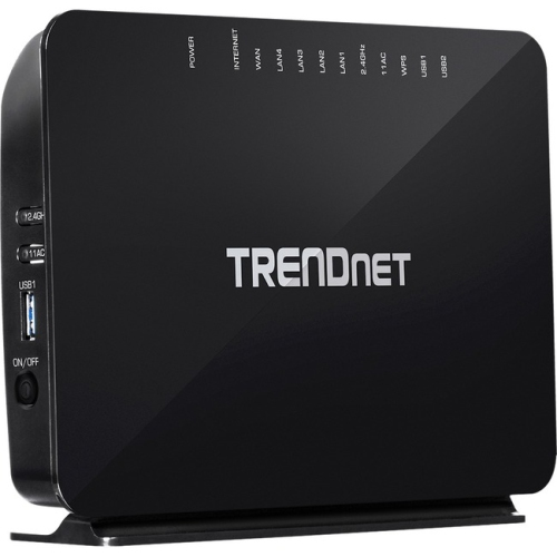 TRENDnet TEW-816DRM Ac750 Wireless Vdsl2 Modem Router : Wired ...