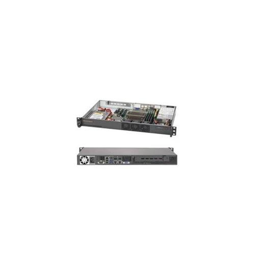 Supermicro SYS-5019S-L Super Server LGA1151 200 watt 1U Rackmount Server Barebone System Black