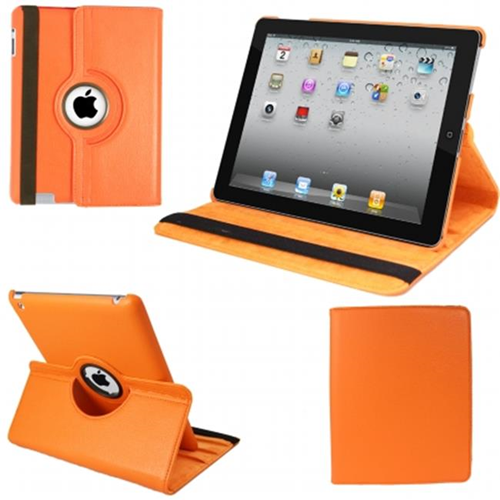 Natico 60-IM360-OR IPAD MINI 360 CASE FAUX ORANGE