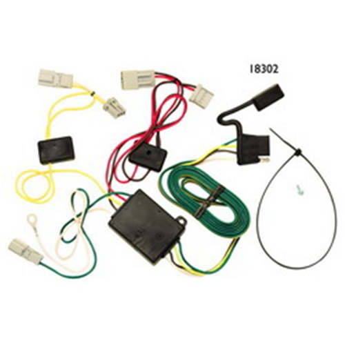Tow Ready 118302 T-One Connector Assembly With Converter 8.88 x 3.97 x 1.80 in.