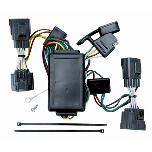 Tow Ready 118408 T-One Connector Assembly With Circuit Protected Converter 3.98 x 3.63 x 8.88 in.