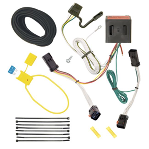 Tow Ready 118524 T-One Connector Assembly With Upgraded Circuit Protected Modulite HD Module 8 x 3.50 x 11.25 in.