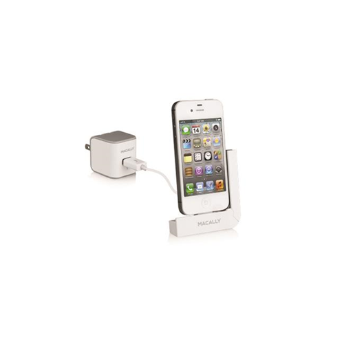 Macally Peripherals Ldock Foldable L Shape Charging Dock for iPhone 4s-4