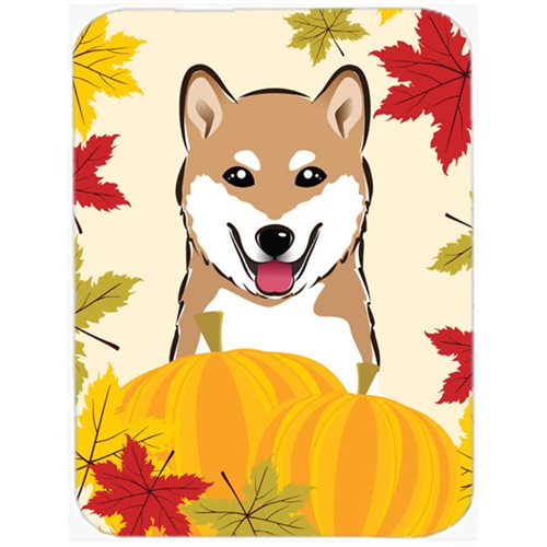 Carolines Treasures BB2031MP Shiba Inu Thanksgiving Mouse Pad Hot Pad or Trivet