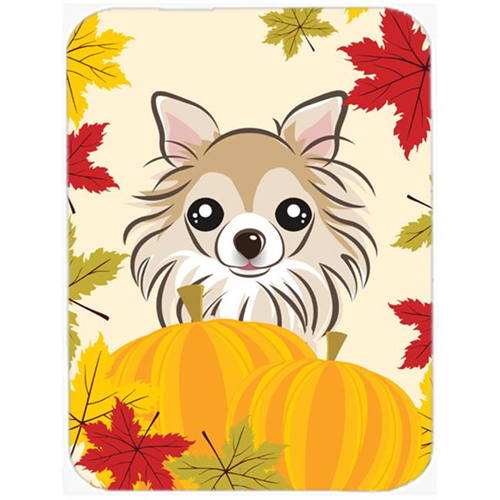 Carolines Treasures BB2057MP Chihuahua Thanksgiving Mouse Pad Hot Pad or Trivet