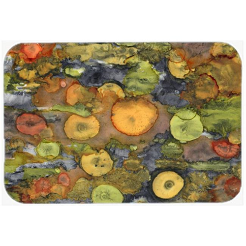 Carolines Treasures 8966MP Abstract with Mother Earth Mouse Pad Hot Pad or Trivet