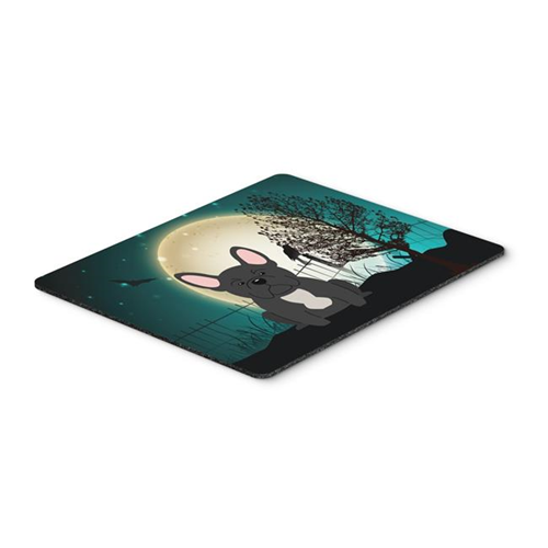 Carolines Treasures BB2204MP Halloween Scary French Bulldog Black Mouse Pad Hot Pad or Trivet