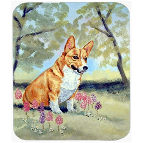 Carolines Treasures 7054MP 9.5 x 8 in. Corgi Mouse Pad Hot Pad or Trivet