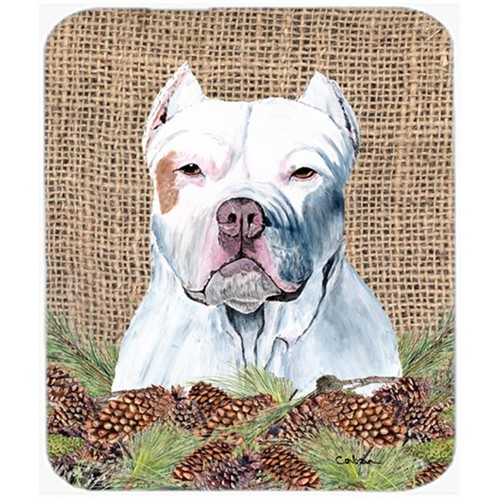 Carolines Treasures SC9042MP 9.5 x 8 in. Pit Bull Mouse Pad Hot Pad or Trivet