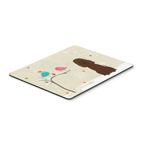 Carolines Treasures BB2535MP Christmas Presents Between Friends Irish Water Spaniel Mouse Pad Hot Pad or Trivet
