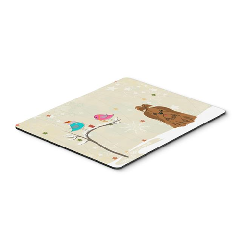 Carolines Treasures BB2558MP Christmas Presents Between Friends Shih Tzu Chocolate Mouse Pad Hot Pad or Trivet