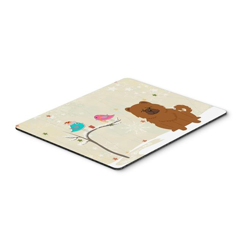 Carolines Treasures BB2614MP Christmas Presents Between Friends Chow Chow Red Mouse Pad Hot Pad or Trivet