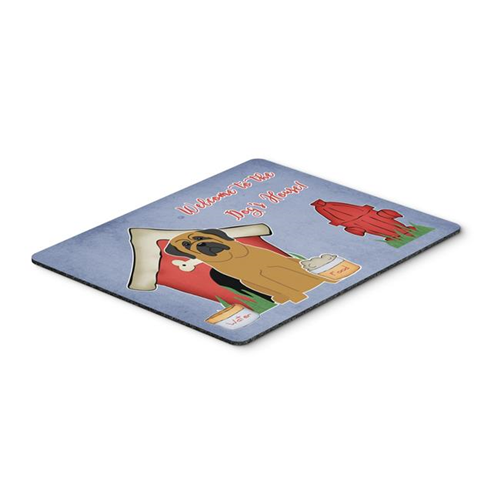 Carolines Treasures BB2772MP Dog House Collection Mastiff Mouse Pad Hot Pad or Trivet