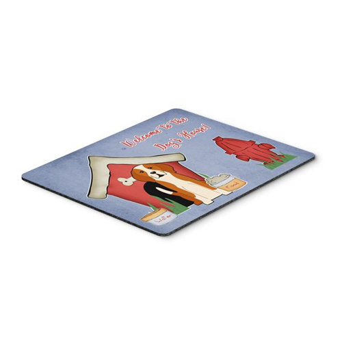 Carolines Treasures BB2864MP Dog House Collection English Foxhound Mouse Pad Hot Pad or Trivet