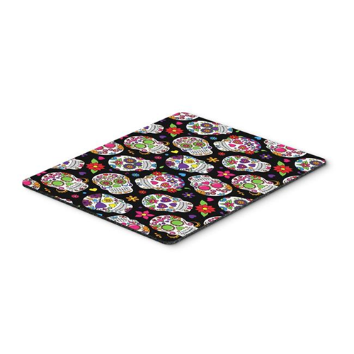 Carolines Treasures BB5116MP Day of the Dead Black Mouse Pad Hot Pad or Trivet