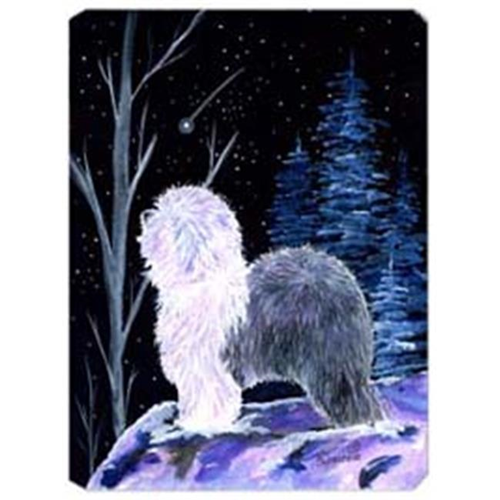 Carolines Treasures SS8401MP Starry Night Old English Sheepdog Mouse Pad