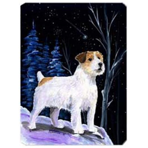 Carolines Treasures SS8388MP Starry Night Jack Russell Terrier Mouse Pad