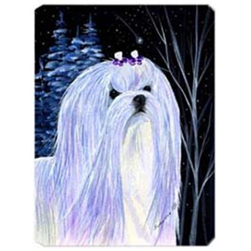 Carolines Treasures SS8378MP Starry Night Maltese Mouse Pad