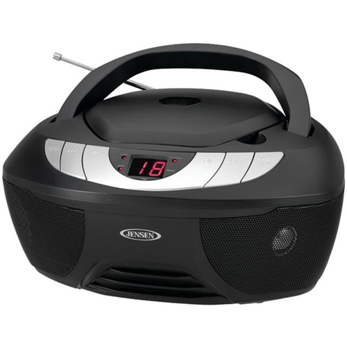 Jensen Cd 475 Portable Stereo Cd Player With Am Amp Fm Radio