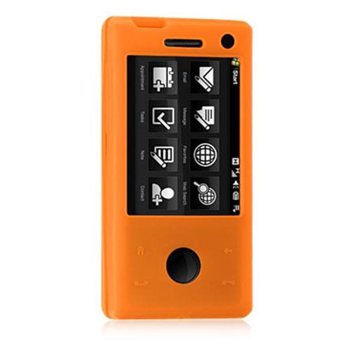 DreamWireless SCHTCFUOR HTC Fuze & Touch Pro Skin Case - Orange